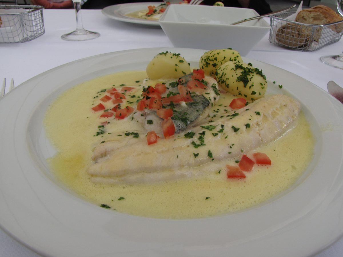 Portions of palée