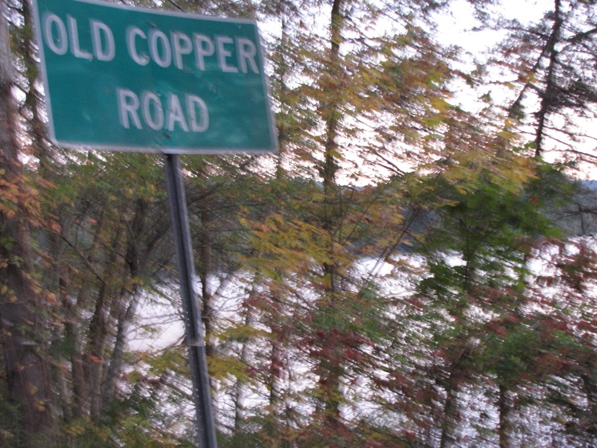 Road to Copperhill