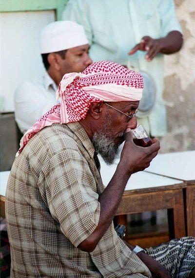 Yemeni Coffee drinker
