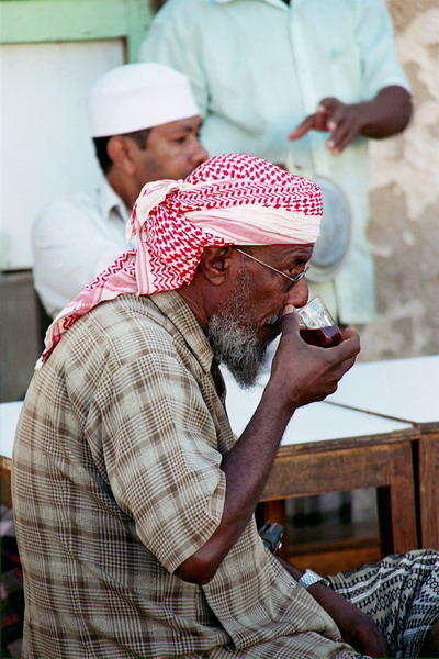 Yemeni Coffee drinker